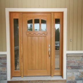 Gresham exterior door finishing 001