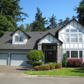 Tigard exterior painting project 001