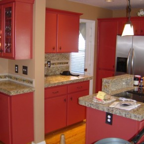 Cabinet Refinishing Beaverton Oregon 95