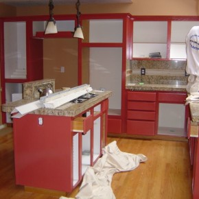 Cabinet Refinishing Beaverton Oregon 100