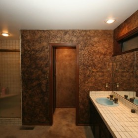 Venetian Plaster Bathroom Portland Oregon