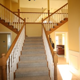 stairway painting project, Beaverton, OR 018