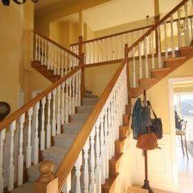 stairway painting project, Beaverton, OR 017