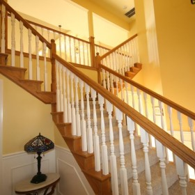 stairway painting project, Beaverton, OR 016