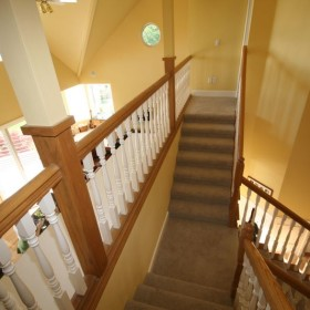 stairway painting project, Beaverton, OR 015