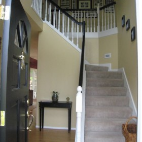 stairway painting project, Beaverton, OR 014