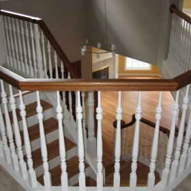 stairway painting project, Beaverton, OR 012