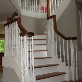 stairway painting project, Beaverton, OR 011