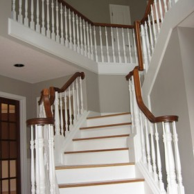 stairway painting project, Beaverton, OR 010