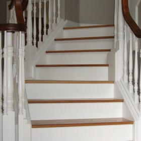 stairway painting project, Beaverton, OR 009