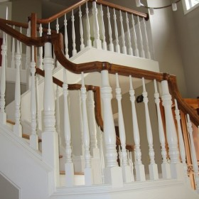 stairway painting project, Beaverton, OR 008