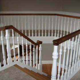 stairway painting project, Beaverton, OR 007