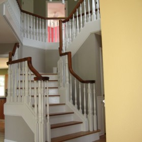 stairway painting project, Beaverton, OR 006