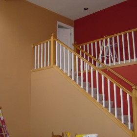 stairway painting project, Beaverton, OR 005