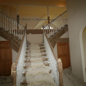 stairway painting project, Beaverton, OR 004