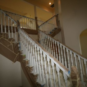 stairway painting project, Beaverton, OR 003