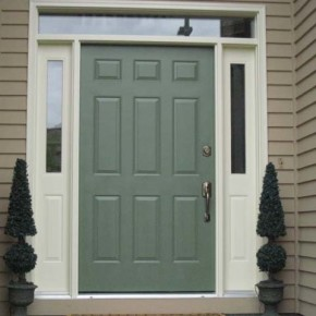 Beaverton exterior door painting 001